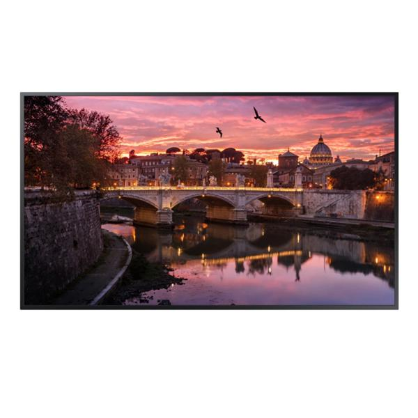 "Samsung 55"" QB55R - Edge-Lit 4K UHD LED Display for Business (Cisco Certified Compatible Display)"