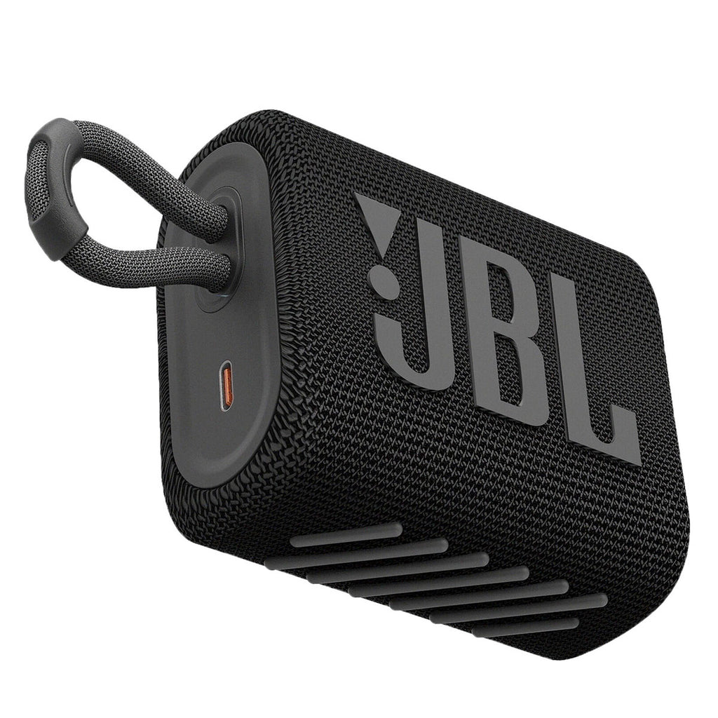 JBL Go 3 Portable Bluetooth Speaker (Black)