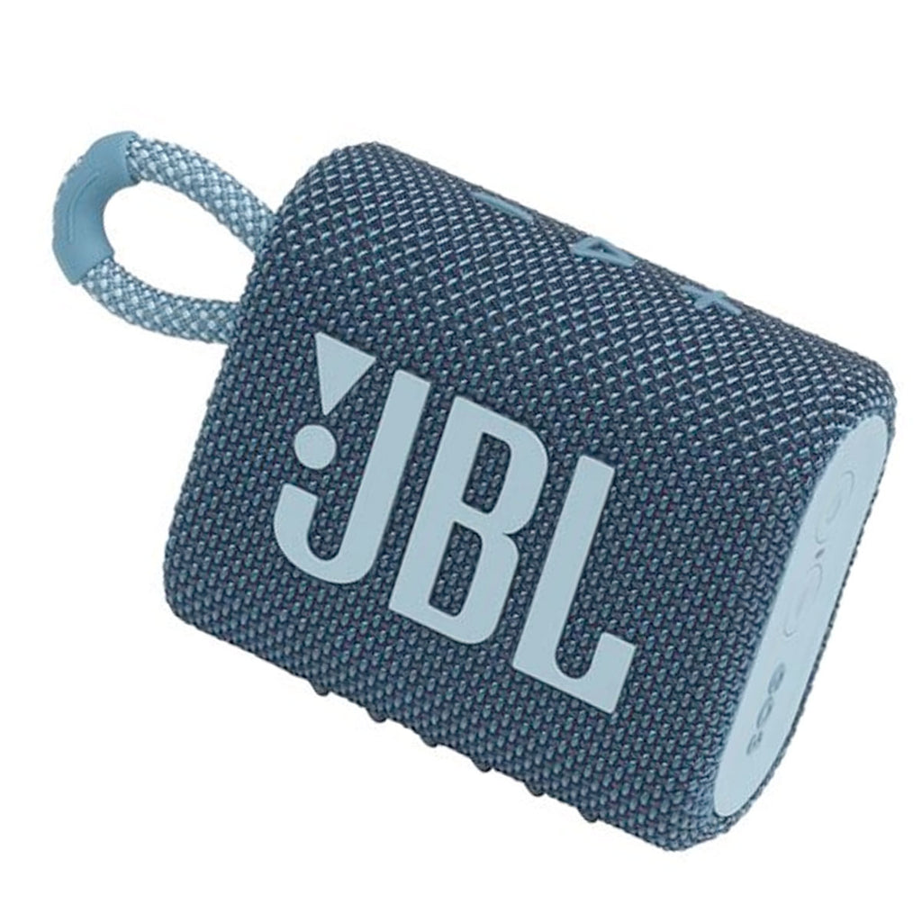 JBL Go 3 Portable Bluetooth Speaker (Blue)