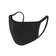 Ear Loop Face Mask MADE IN USA - BLACK Striped Liner