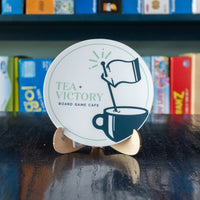 Tea + Victory Sticker