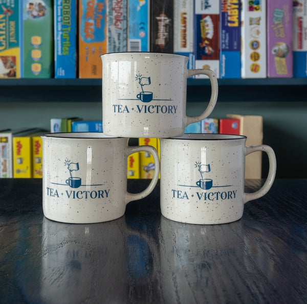 Tea and Victory Speckle Mug