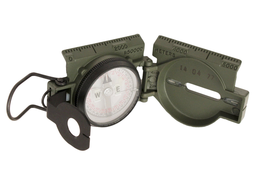 Cammenga Official US Miltary Tritium Lensatic Compass Gift Box