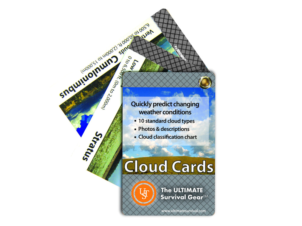 Ultimate Survival Technologies Learn and Live Cards - Clouds