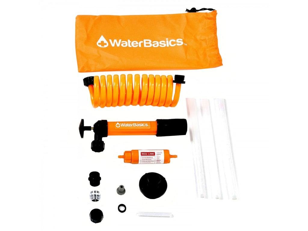 Aquamira WaterBasics™ Emergency Pump and Filter Kit