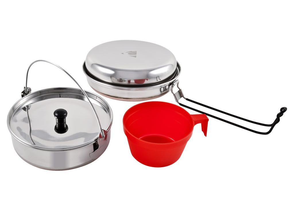 Chinook Ridgeline Stainless Steel Solo Mess Kit