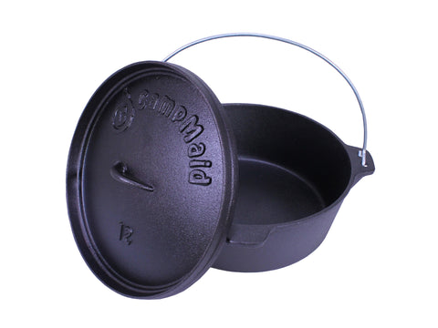 "CampMaid 12"" Dutch Oven"