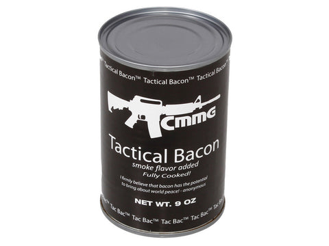 Tactical Bacon, 9oz Canned - by CMMG, Inc.