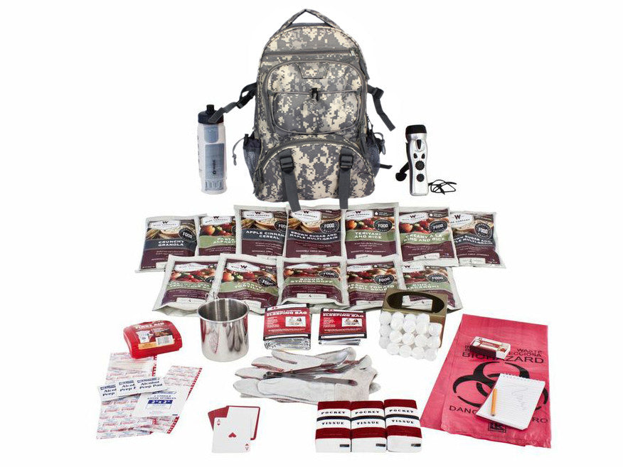 72 Hour Food Storage and Survival Kit in Camo