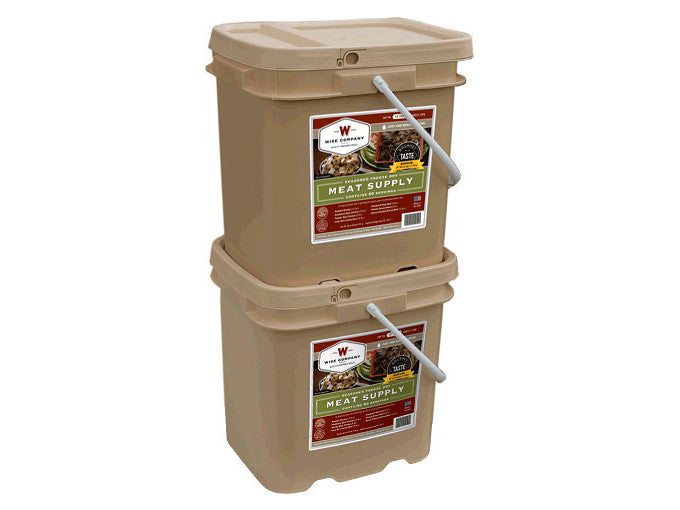 120 Serving Wise Meat Bucket