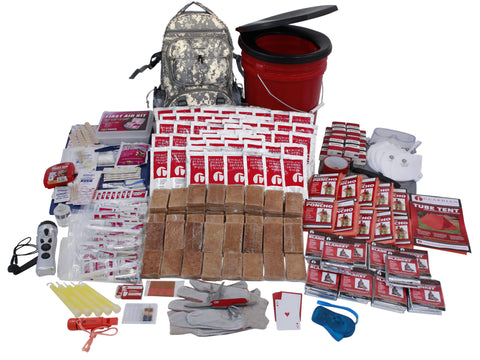 10 Person Guardian Deluxe Survival Kit in Camo