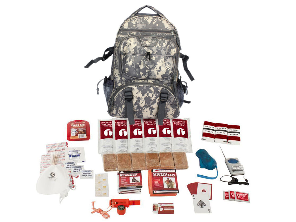 2 Person Guardian Survival Kit in Camo