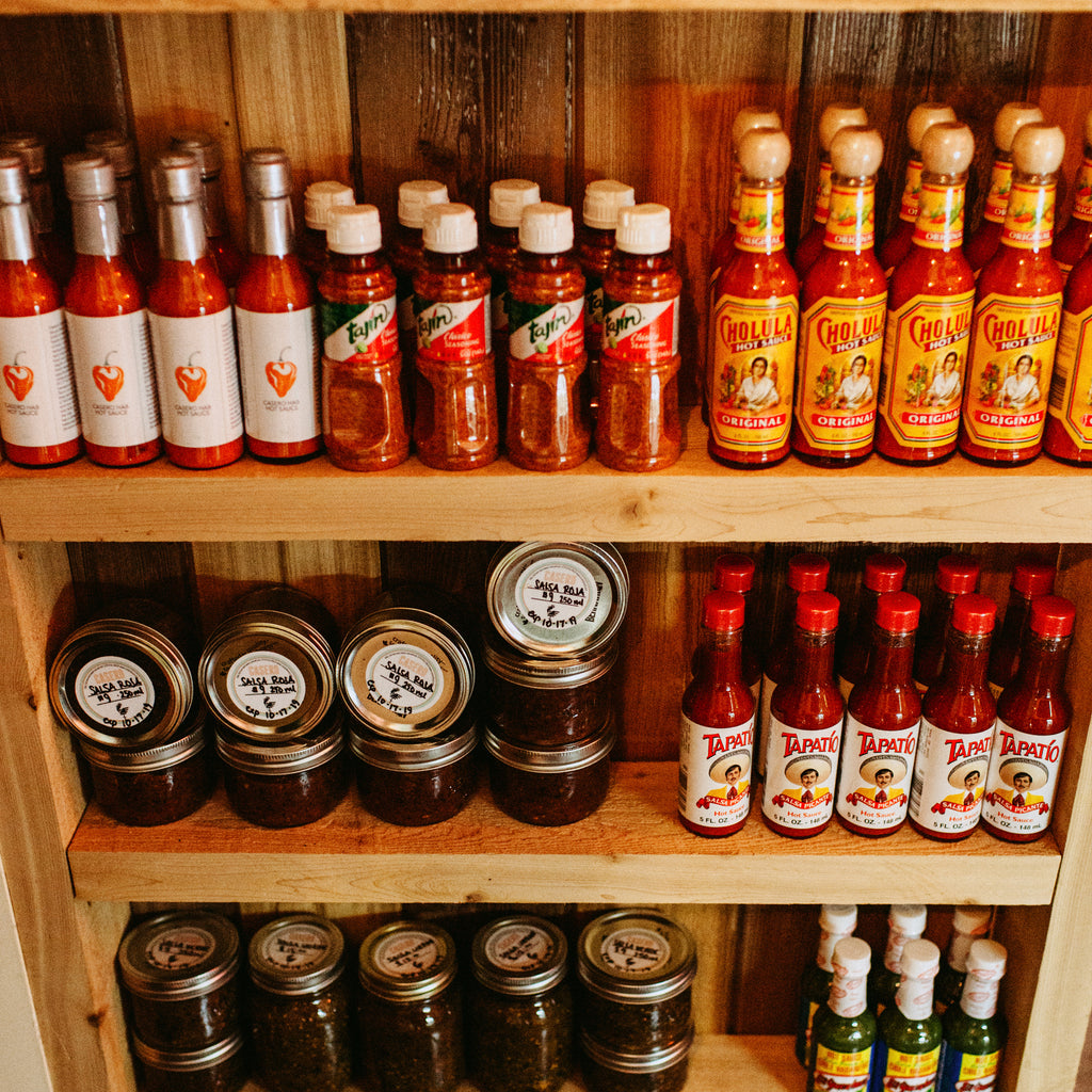 Food - Various Hot Sauce