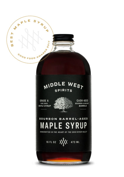 16oz MWS Barrel-Aged Maple Syrup