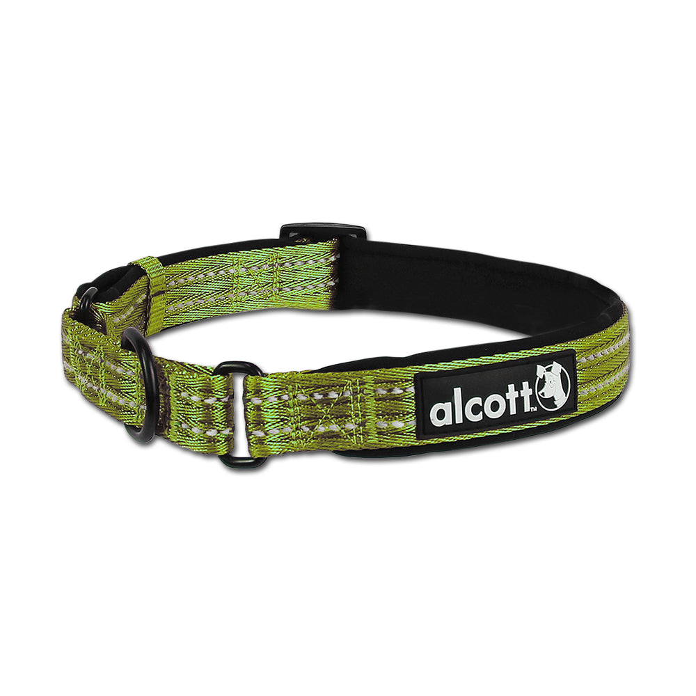 Green Farben martingale adventure collars alcott adventures gear for dogs