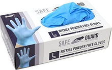 Load image into Gallery viewer, Disposable Nitrile Gloves - Powder Free 100 pieces/box