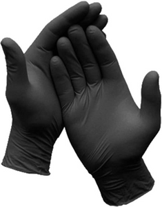 Disposable Nitrile Gloves - Powder Free 100 pieces/box