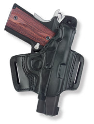 Belt Slide Holster With Thumb Break