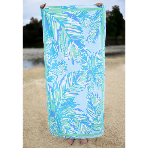 Panama Beach Towel-Blue