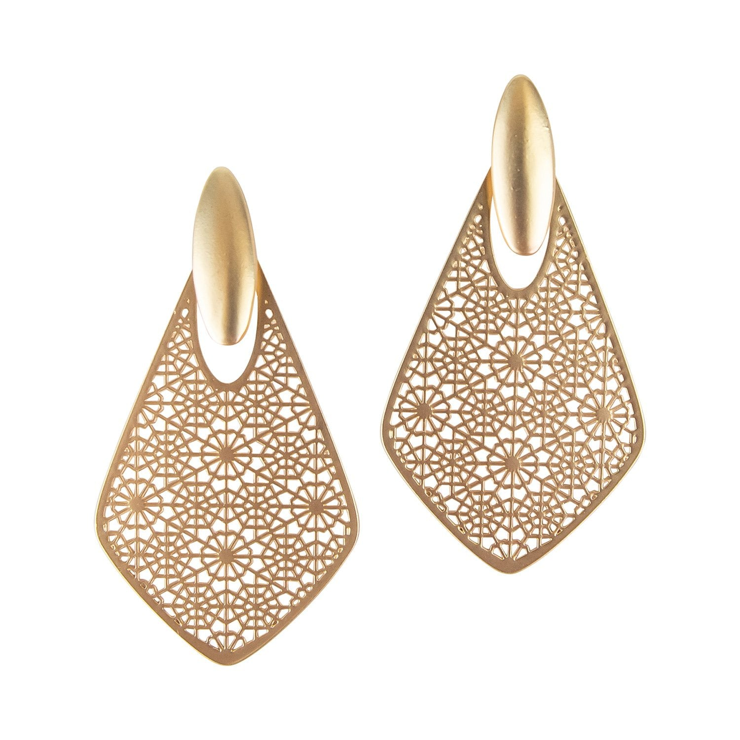 Seattle Earrings-Gold