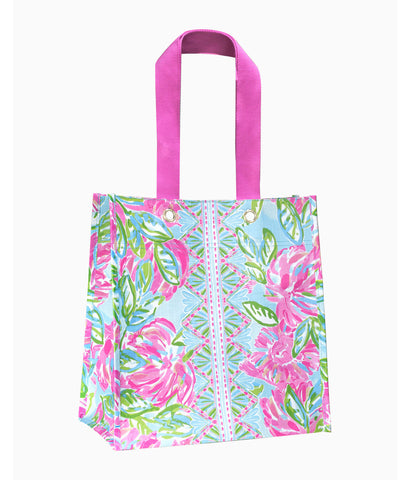 Lilly Pulitzer Market Shopper- Totally Blossom