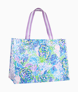 Lilly Pulitzer XL Market Tote- Shell of a Party