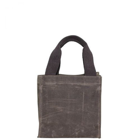 Waxed Canvas 6 Pack Beer Carrier - Khaki