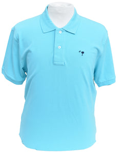 Short Sleeve SC Polo- Teal