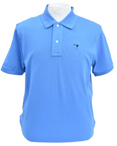 Short Sleeve SC Polo- Blue