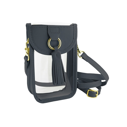 Cell Phone Crossbody Bag-Navy