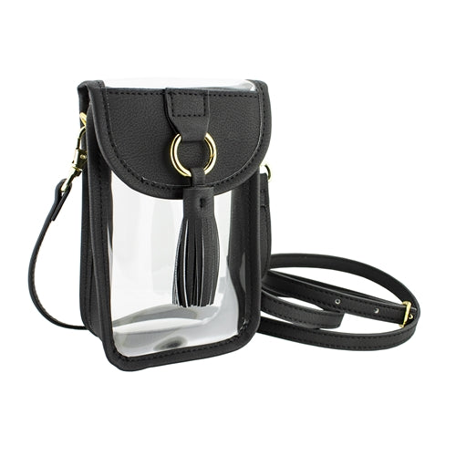 Cell Phone Crossbody Bag-Black