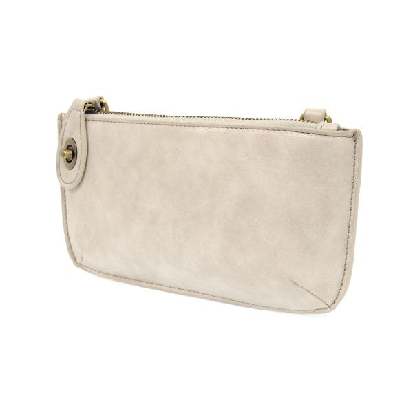 Crossbody Wristlet Clutch - Alabaster