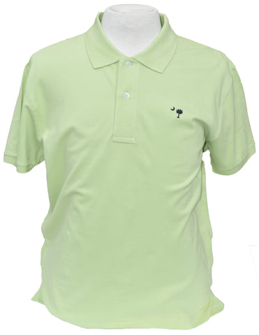 Short Sleeve SC Polo- Lime