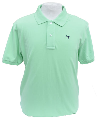 Short Sleeve SC Polo- Mint