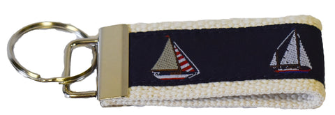 Sailboat Key Fob