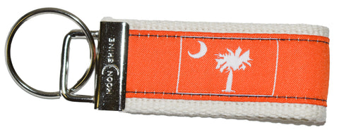 Orange Palmetto Key Fob