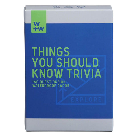 Things You Should Know Trivia