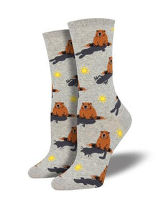 Women's Groundhog Day Socks
