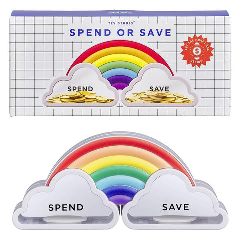 Spend or Save Money Box