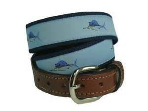 Leather Tab Belt-Sailfish