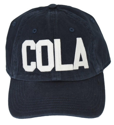 COLA Felt Hat- Navy
