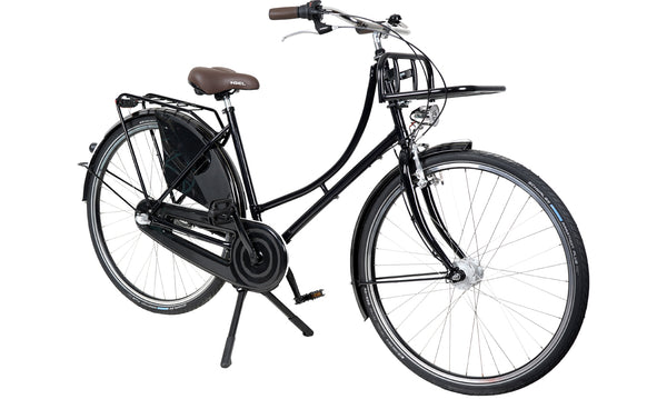 Hollandrad.me Bike 28 Zoll 3 Gang Unplattbar Hollandrad Damen/Herren mit Transportpacket
