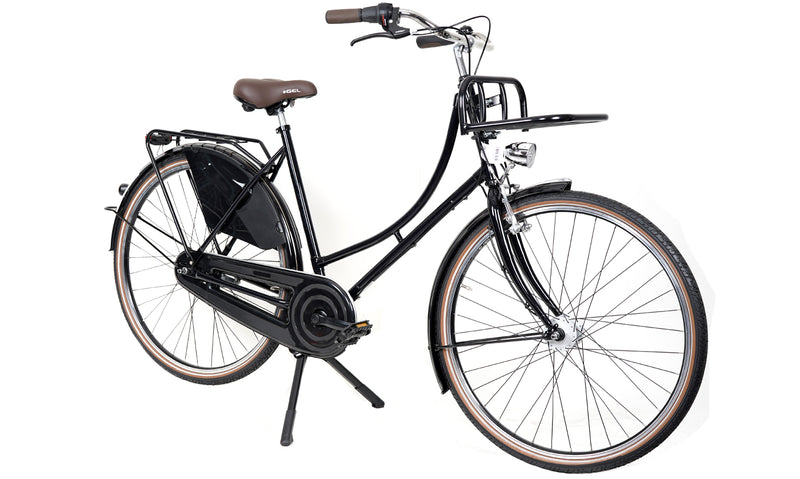 Hollandrad.me Bike 28 Zoll 7 Gang Unplattbar Hollandrad Damen/Herren mit Transportpacket