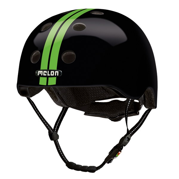 Bicycle Helmet Urban Active »Straight Green Black«