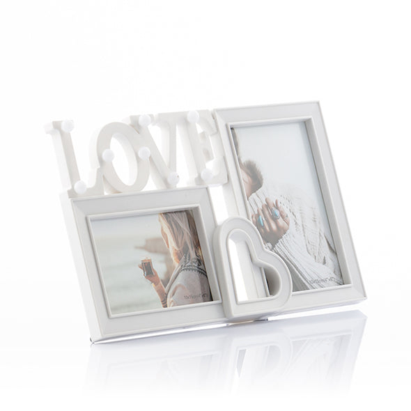 Fotoholder LED Love (2 Fotos)