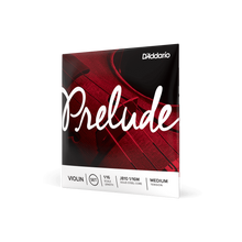 Load image into Gallery viewer, D'Addario Prelude Violin String Set, Medium Tension (4/4 to 1/16)