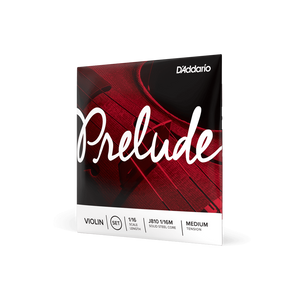 D'Addario Prelude Violin String Set, Medium Tension (4/4 to 1/16)