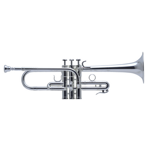 Schilke E3L Traditional Custom Series Eb/D Trumpet with Tuning Bell Silver plated