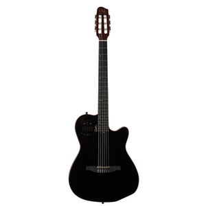 Godin 032181 ACS SLIM Nylon Black HG with Bag Includes VBGAC Gig Bag