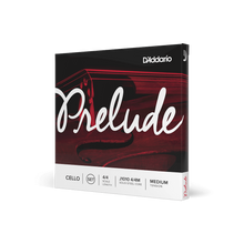 Load image into Gallery viewer, D'Addario Prelude Cello String Set, 4/4 Scale, Medium Tension